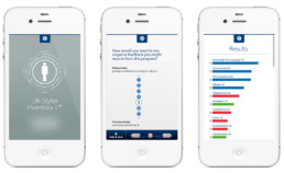 LSI app schermontwerp