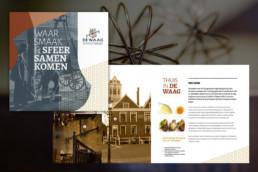 De Waag brochure ontwerp